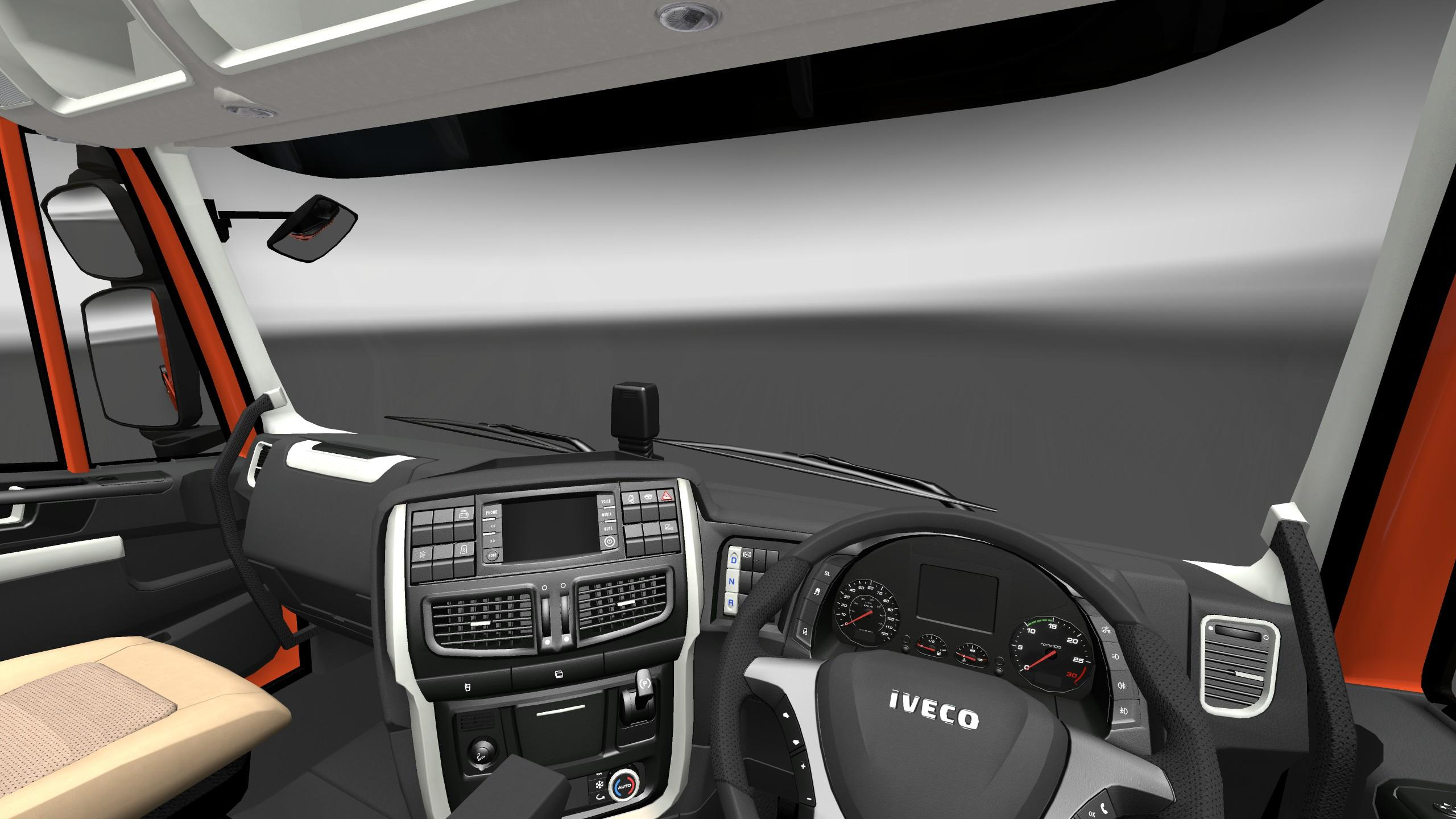 Iveco Stralis Hi Way Interior Exterior Rework V1 1 Mod