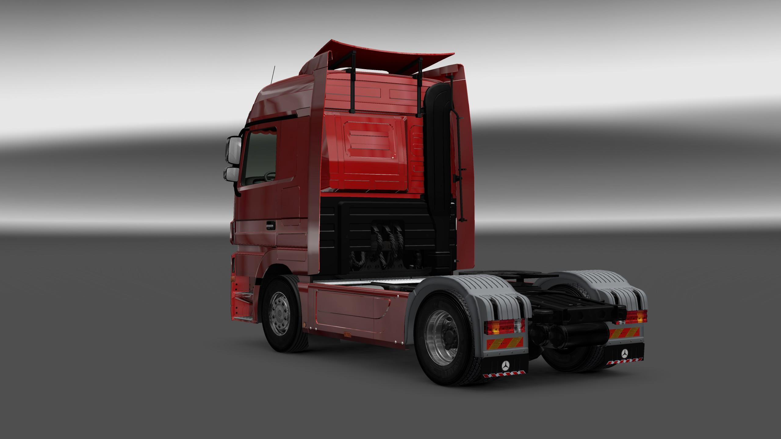 Mercedes Benz Actros Mp3 Interior Exterior Rework V1 1 Mod