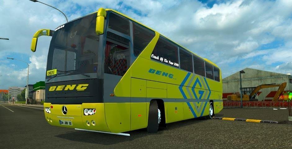 Mercedes Benz O403 Bus Mod Ets 2 Euro Truck Simulator 2 Mods