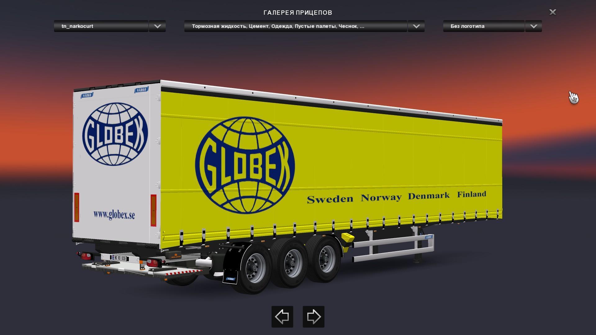 narko curtainsider trailers pack euro truck simulator 2 mods