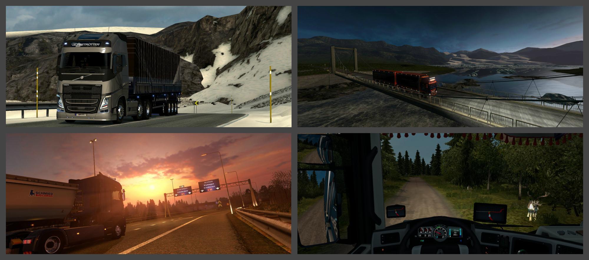 PROMODS V2 01 (UPD 19 02 16) 1 22 X Map -Euro Truck