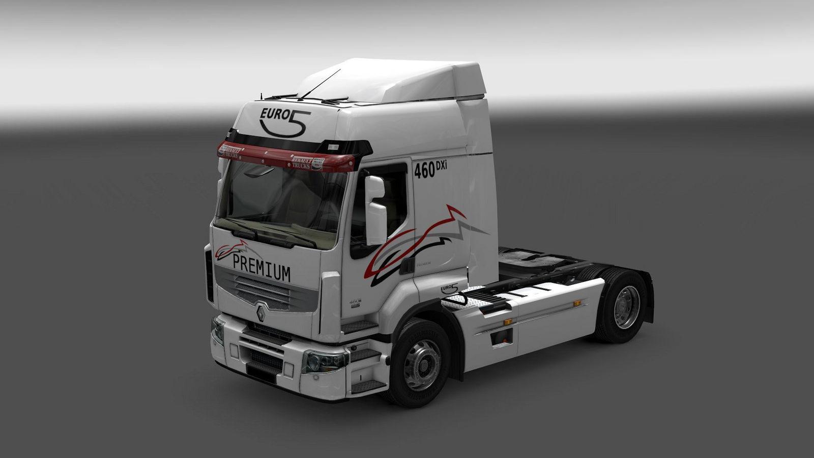 Seat Skins For Trucks >> RENAULT PREMIUM V2.4 Truck -Euro Truck Simulator 2 Mods