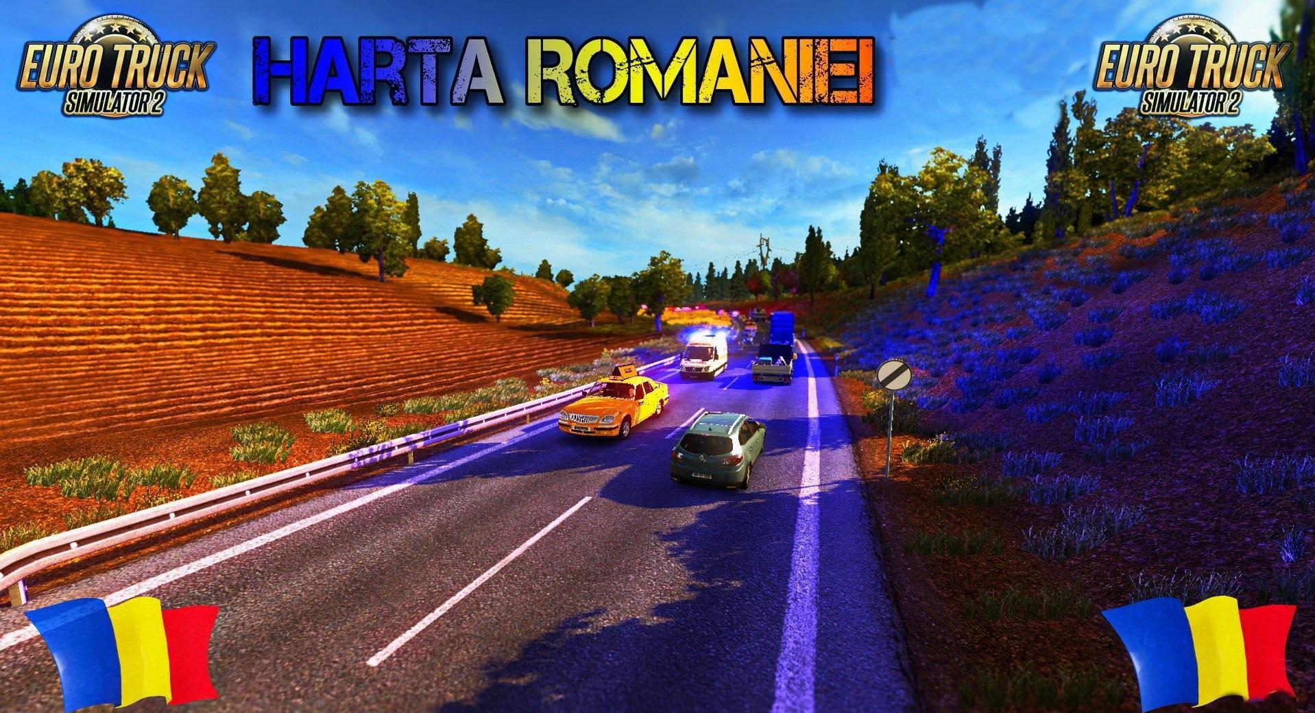 Euro truck simulator 2 romania map hd 2 youtube.