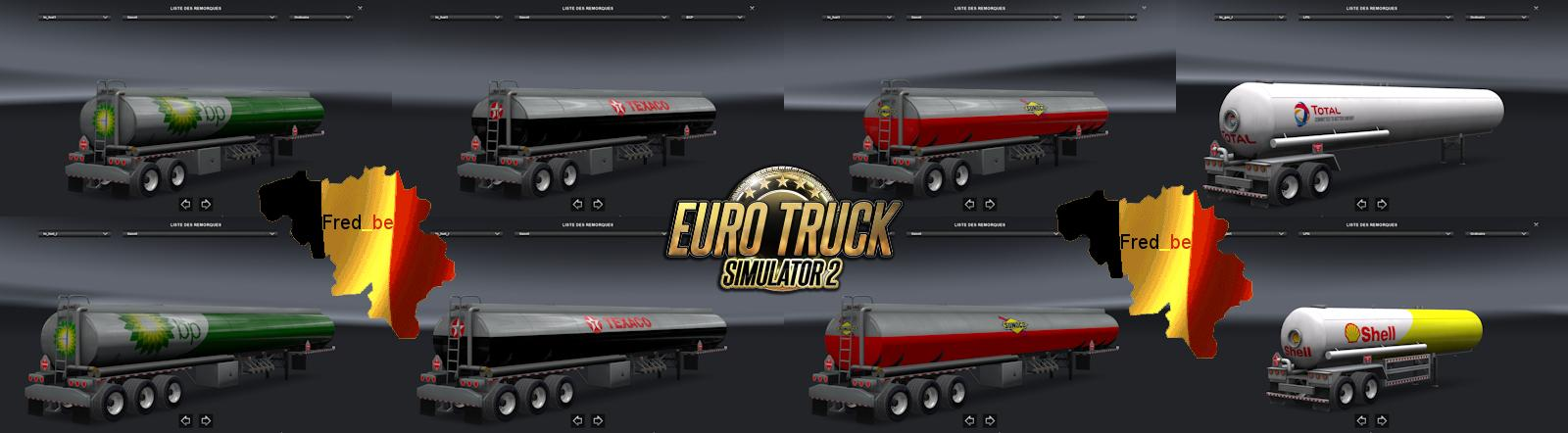 TRAILER PACK CISTERN ATS FOR ETS2 (STANDALONE) ETS2 -Euro