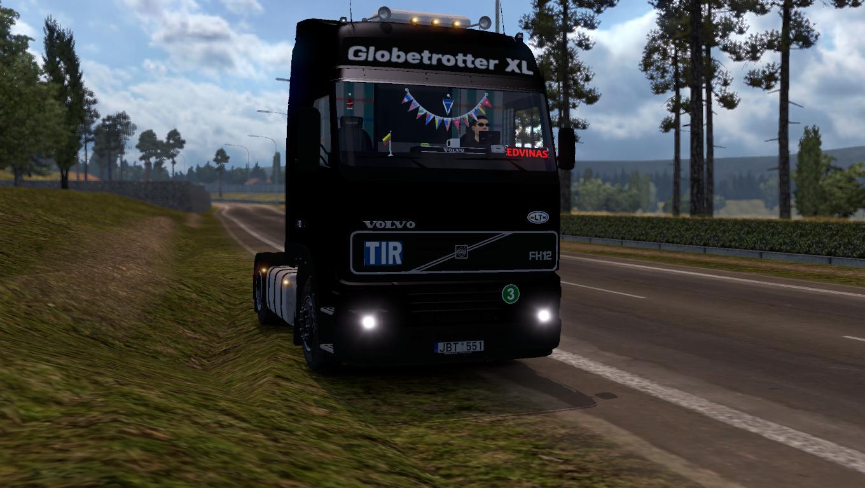 VOLVO FH12 420 1'S & KRONE Truck -Euro Truck Simulator 2 Mods