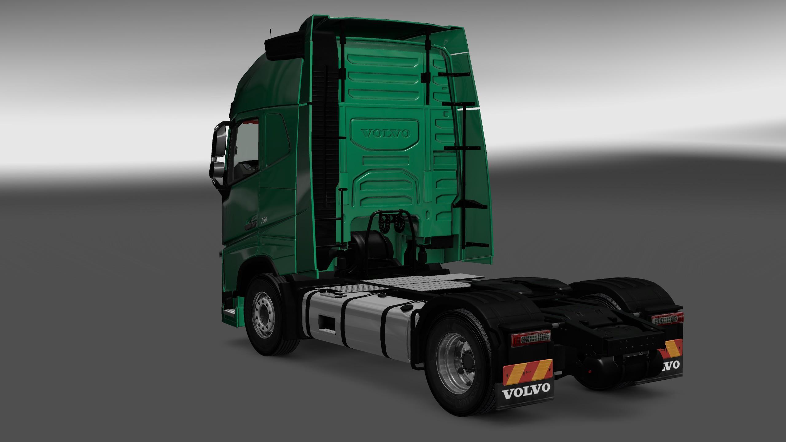VOLVO FH16 2012 INTERIOR/EXTERIOR REWORK V1.1 Mod -Euro Truck Simulator 2 Mods