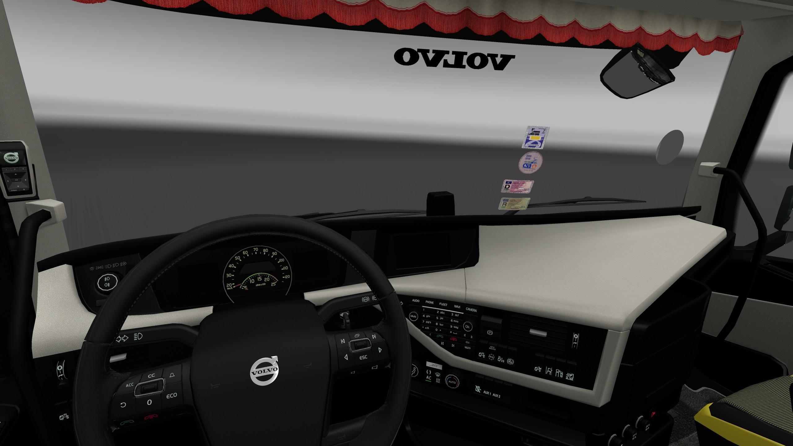 Volvo Truck Parts >> VOLVO FH16 2012 INTERIOR/EXTERIOR REWORK V1.1 Mod -Euro ...