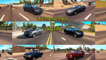 AI Traffic Pack by Jazzycat v1 2 for ATS -Euro Truck