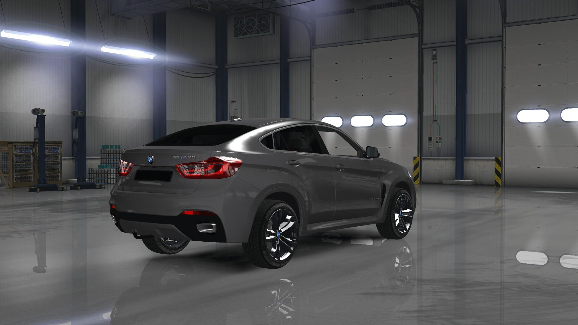 Ats Bmw X6m 2015 Bambitrailer V2 0 For Car Euro Truck
