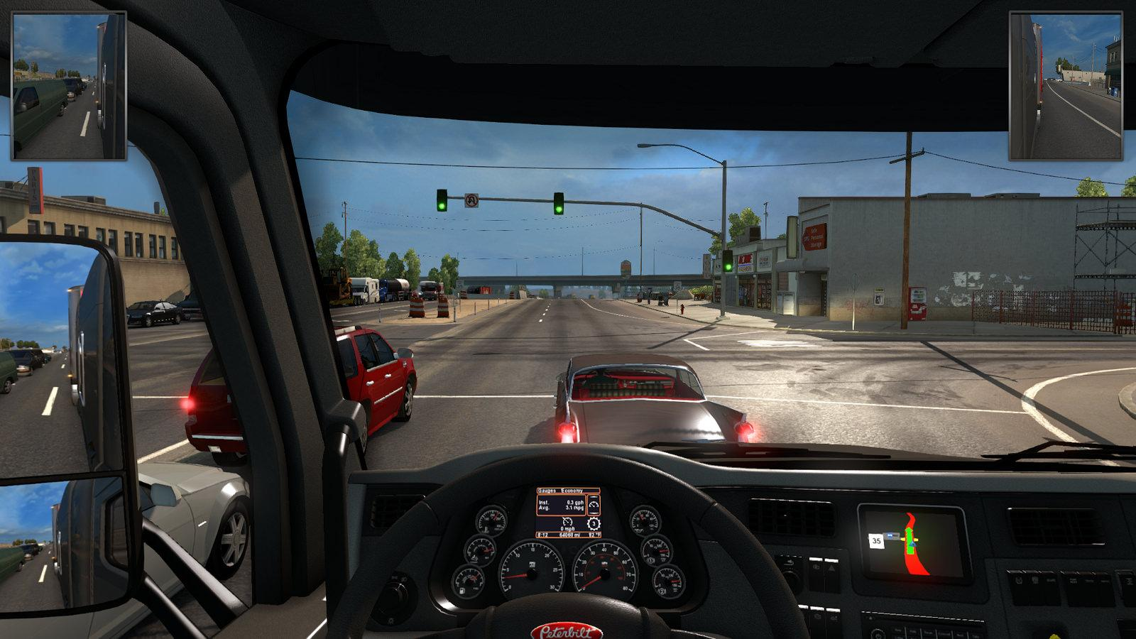 Parts For Cars >> HUD MIRRORS MADE SMALLER Part -Euro Truck Simulator 2 Mods