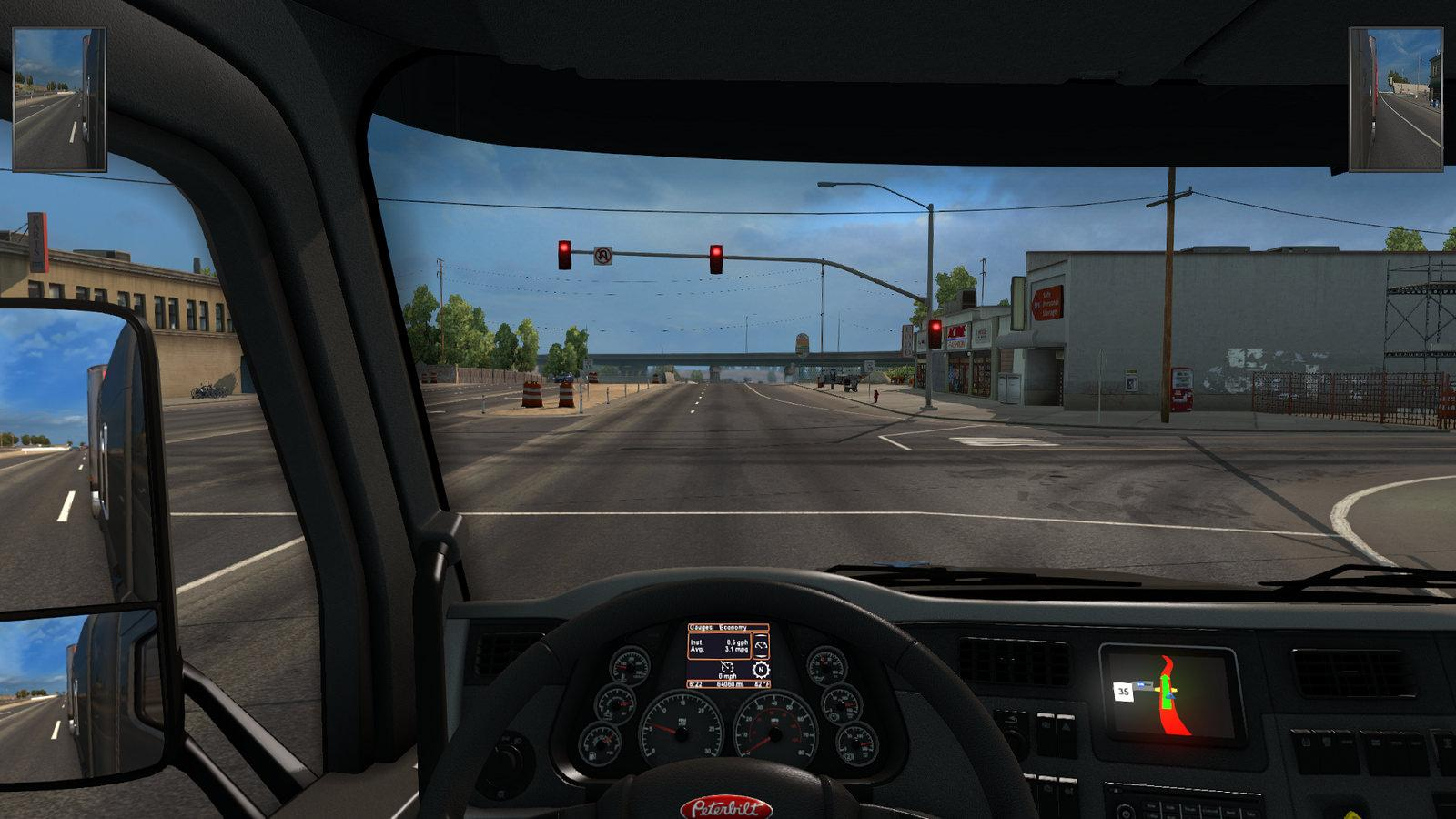 Hud Mirrors Made Smaller Part Euro Truck Simulator 2 Mods