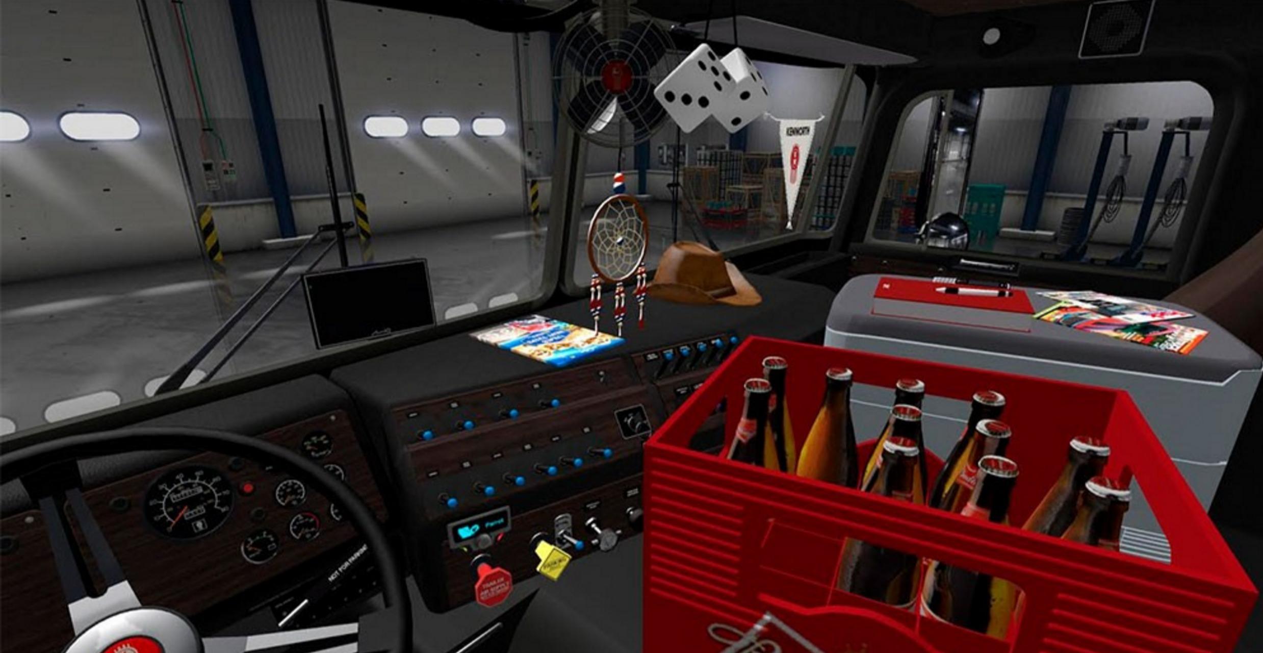 Kenworth K100 V2 Edited By Solaris36 For Ats Euro Truck Simulator 2 Mods