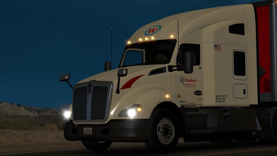 Kenworth T680 Truck Wallbert Transportation Llc Mod Euro Truck Simulator 2 Mods