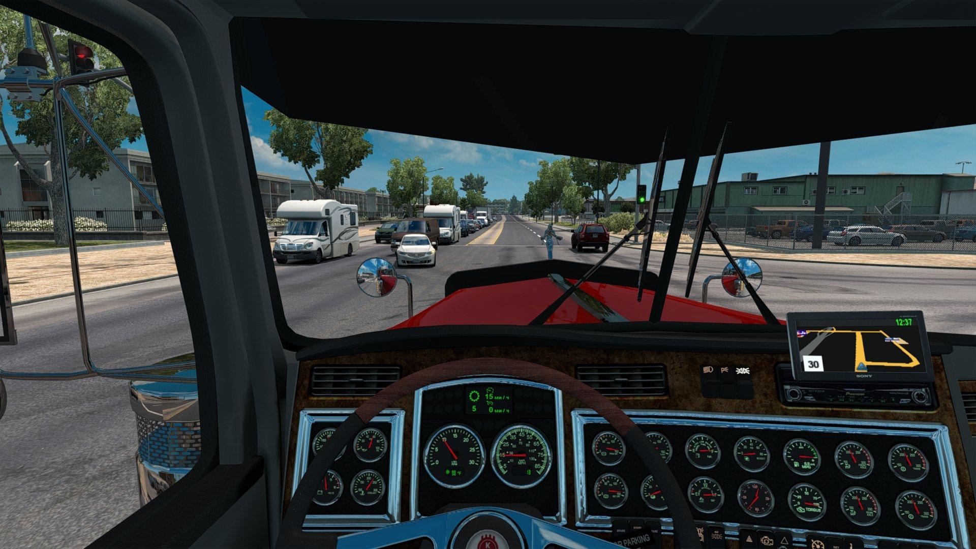 kenworth w900 by slava1 v1 0 0 for ats euro truck simulator 2 mods. Black Bedroom Furniture Sets. Home Design Ideas