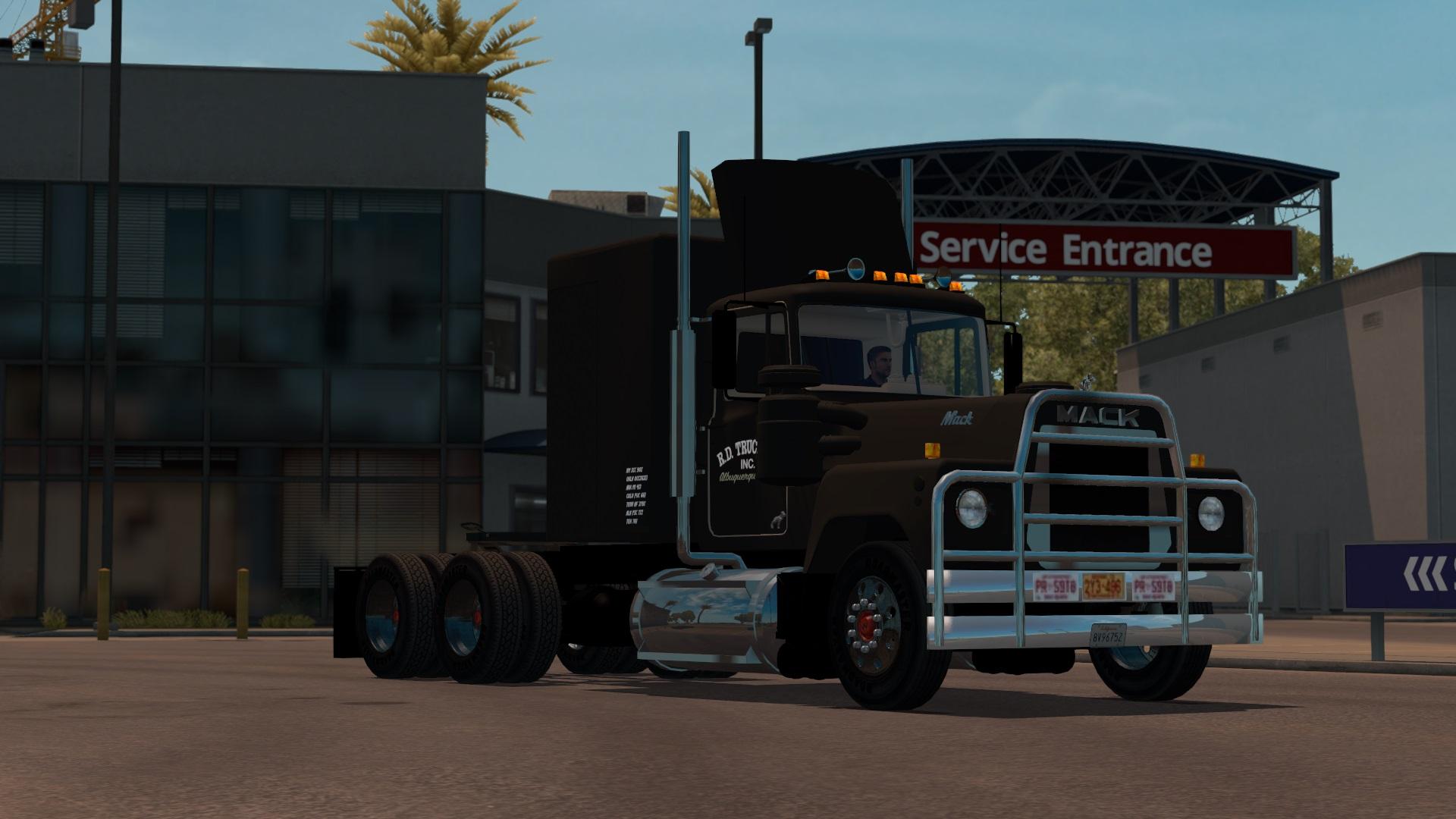 Mack RS700 – Convoy Truck -Euro Truck Simulator 2 Mods