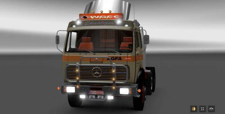 Mercedes benz 1632 ng fixed truck euro truck simulator 2 mods for Mercedes benz box truck