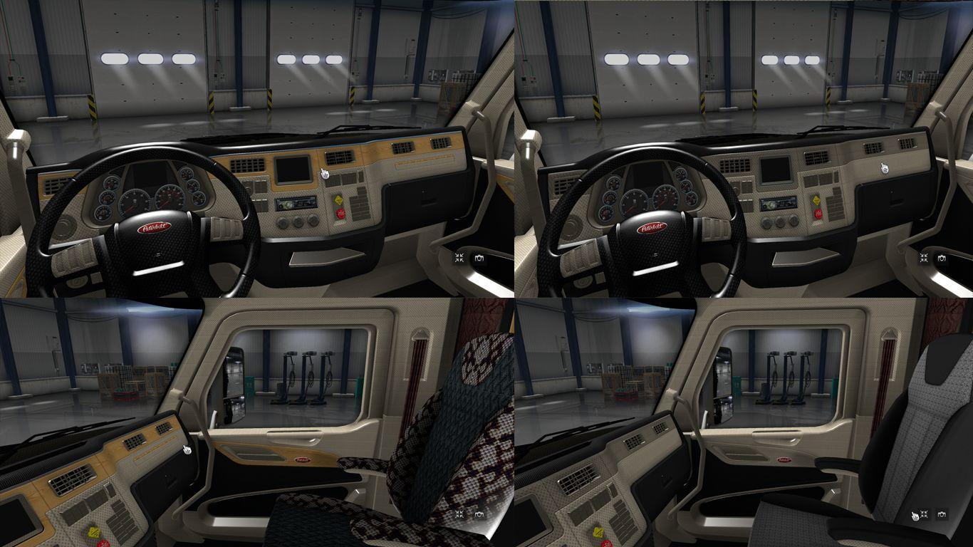 PETERBILT 579 INTERIOR ATS -Euro Truck Simulator 2 Mods