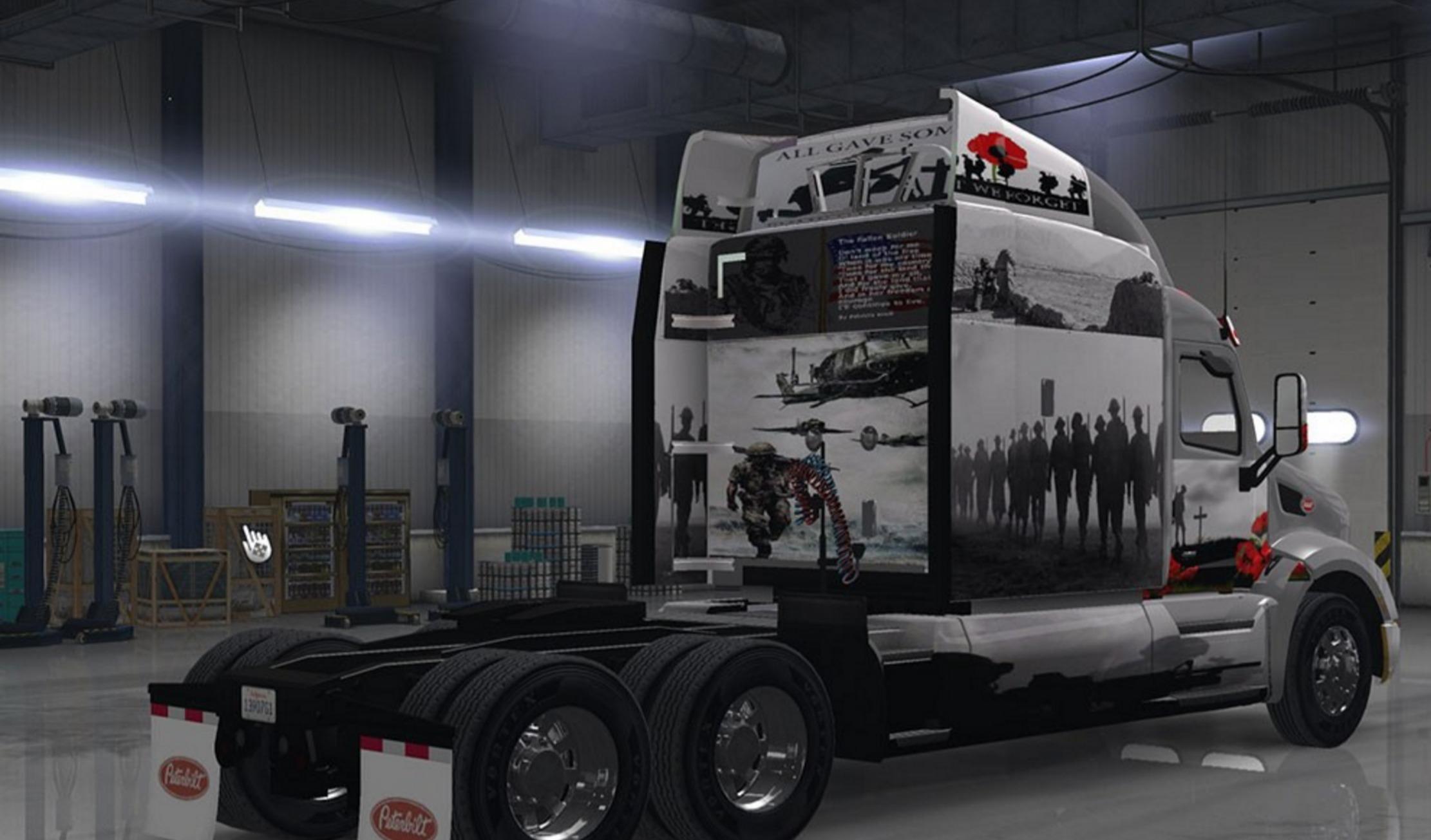 Peterbilt Truck War Ats Euro Truck Simulator 2 Mods