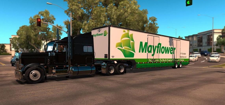 Rd Moving Van For Mod Euro Truck Simulator 2 Mods