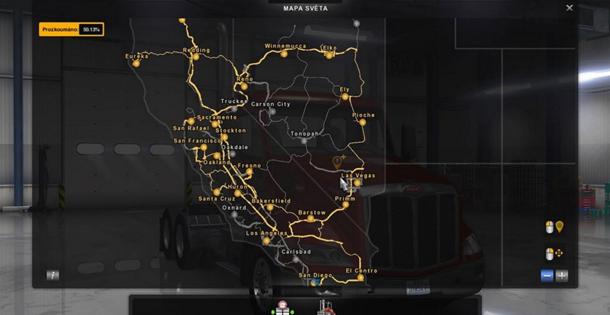 save game (v.1.1) for ats -euro truck simulator 2 mods