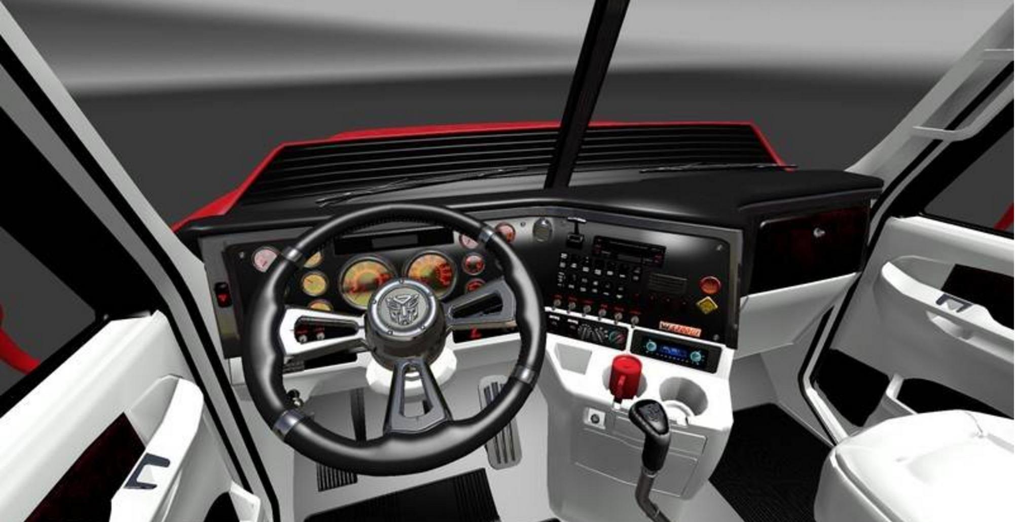 Western star 5700 v 1 truck euro truck simulator 2 mods for Interieur western star