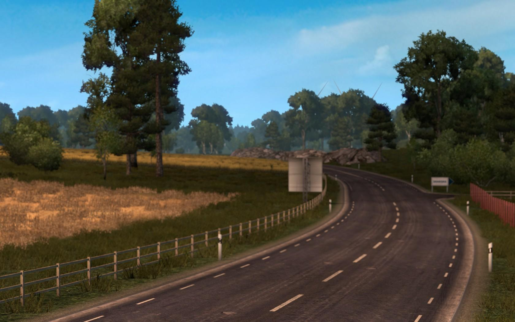 GRAPHIC MOD V2 1 22 2 8S For ETS2 -Euro Truck Simulator 2 Mods