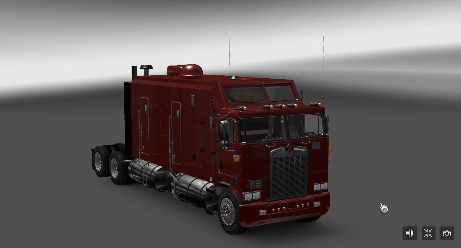KENWORTH K100 V3.0 Truck -Euro Truck Simulator 2 Mods