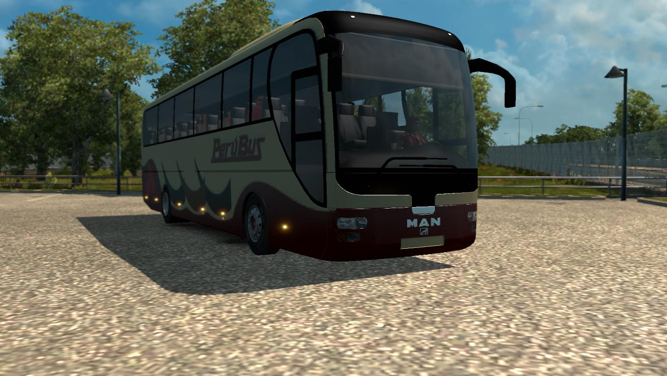 man lion s coach bus v1 0 mod euro truck simulator 2 mods. Black Bedroom Furniture Sets. Home Design Ideas