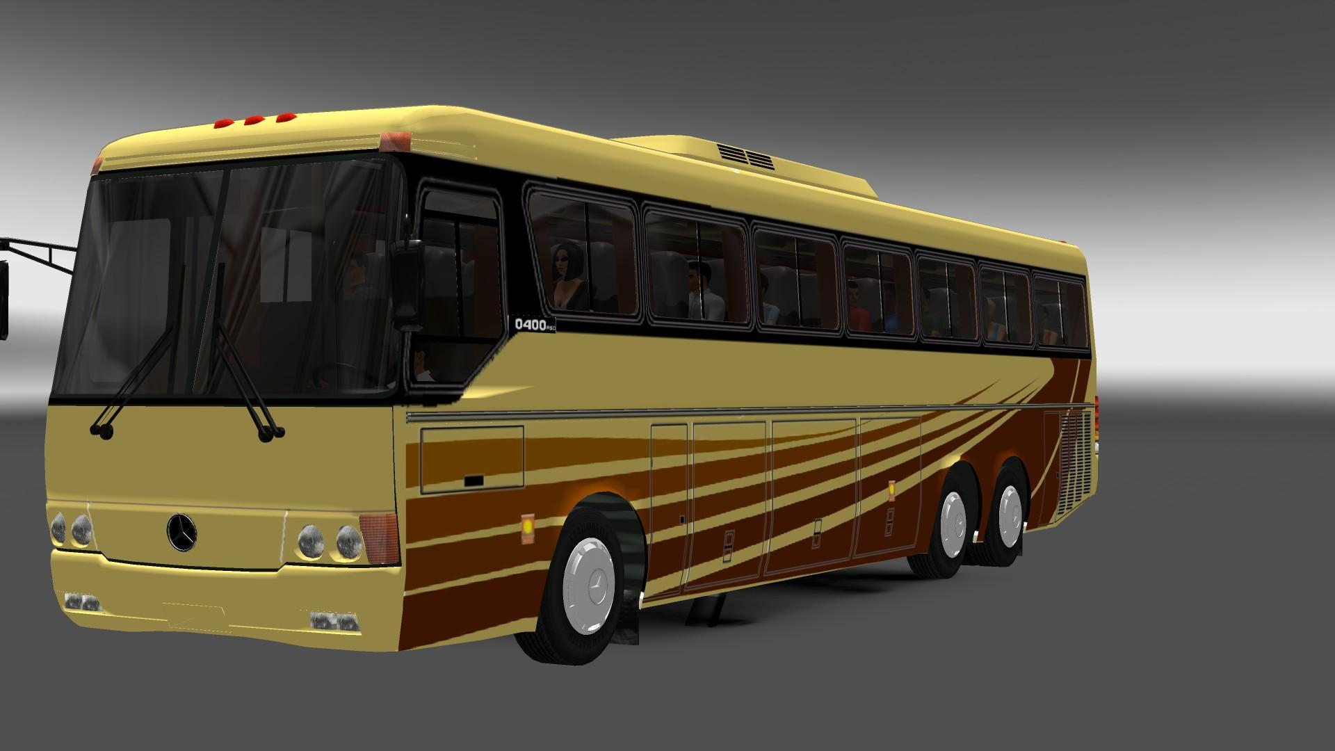 mercedes benz bus carraseri 400 bus euro truck simulator. Black Bedroom Furniture Sets. Home Design Ideas