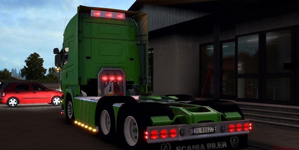 SCANIA R620 BRING V2.5 Truck -Euro Truck Simulator 2 Mods