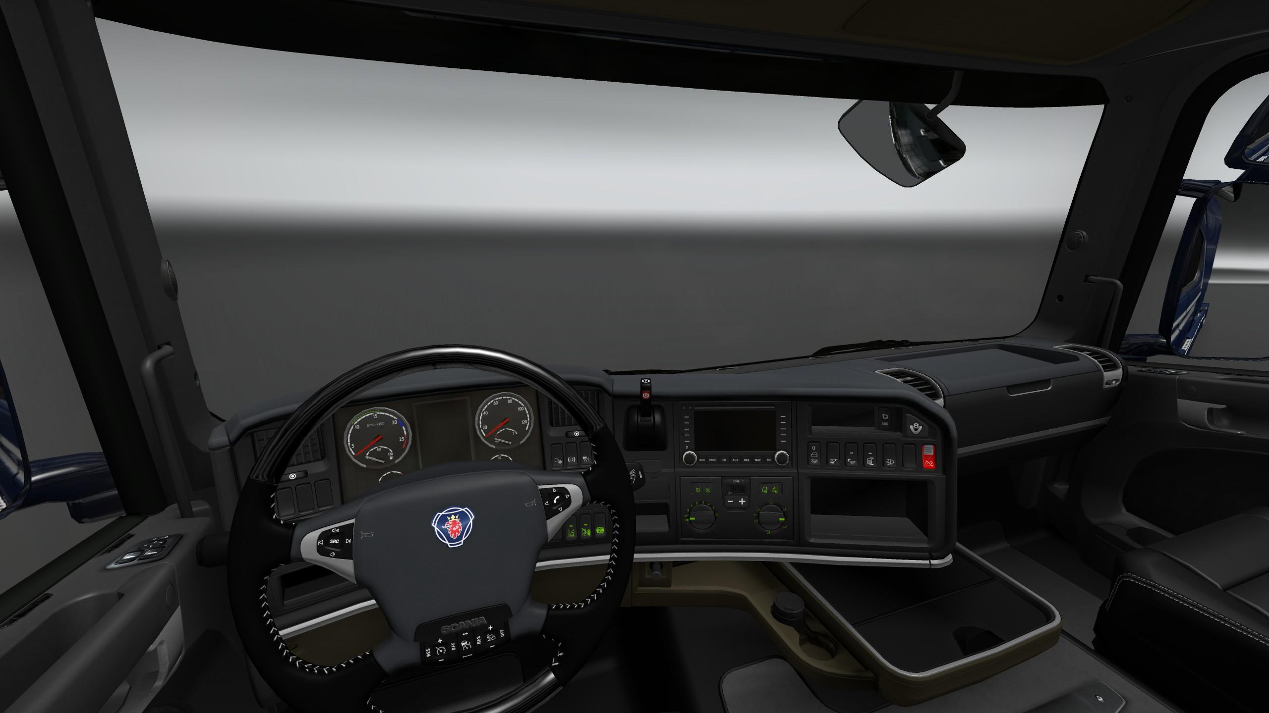 Scania trucks interiors exteriors improvements pack for ets2 truck simulator mods