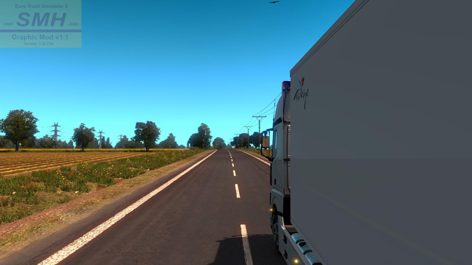 SMHKZL GRAPHIC MOD V1 1 (FIXED TEXTURES) 1 22 2 8S ETS2