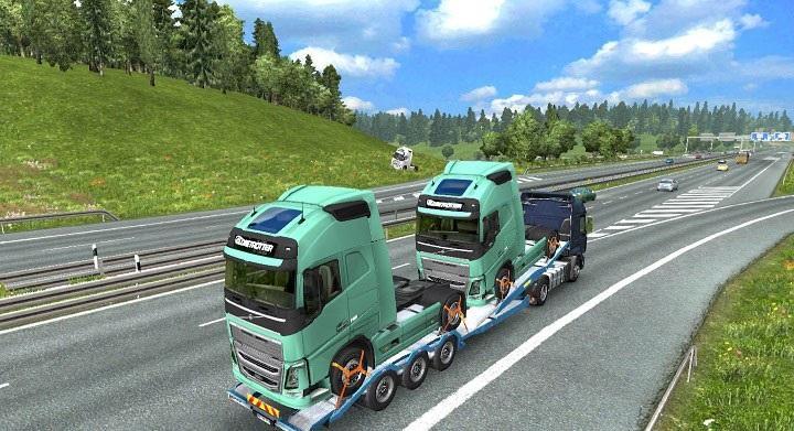 TRAILERS IN TRAFFIC ETS2 -Euro Truck Simulator 2 Mods