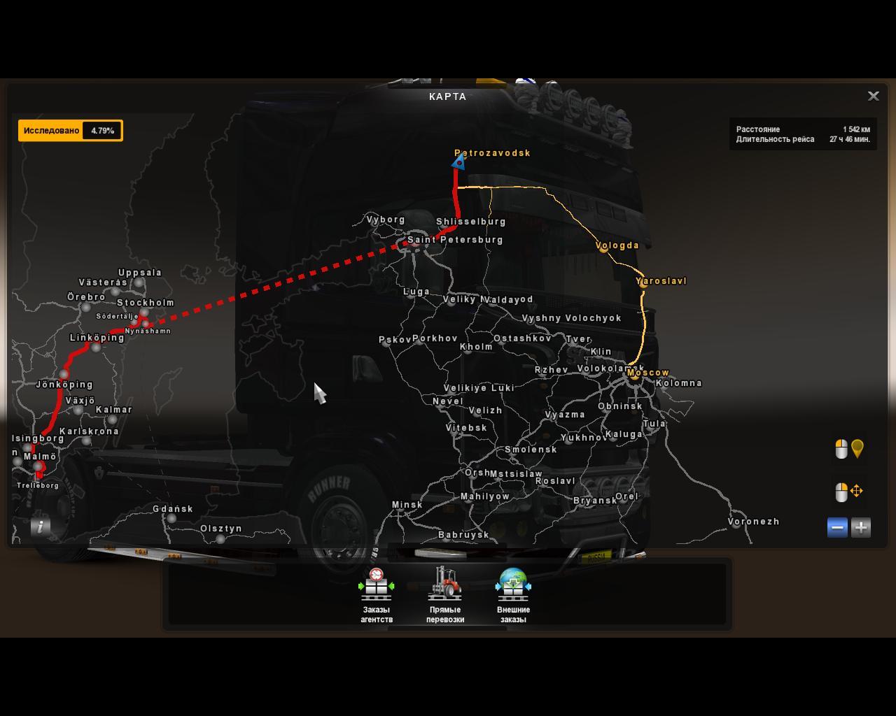ADDON FOR RUSMAP V ETS Euro Truck Simulator Mods - R us map