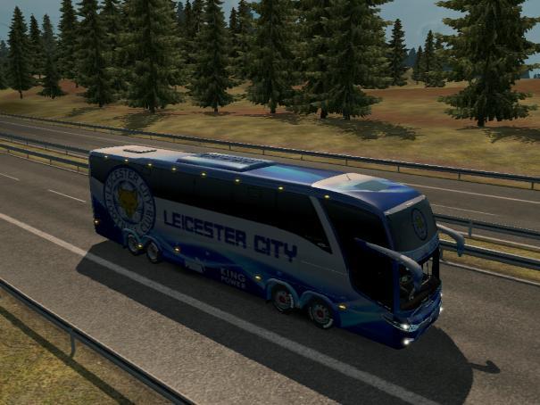 BUS MARCOPOLO G7 1600LD LEICESTER CITY V1 23 Mod -Euro Truck