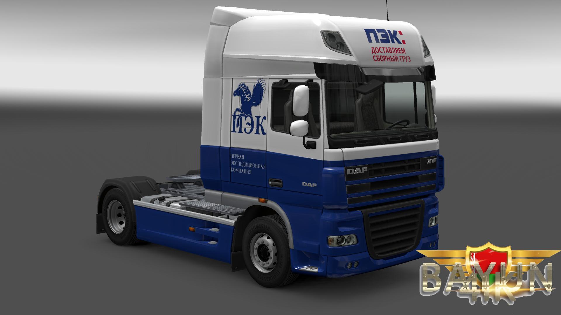 DAF XF 105 PEC SKIN Mod Euro Truck Simulator 2 Mods