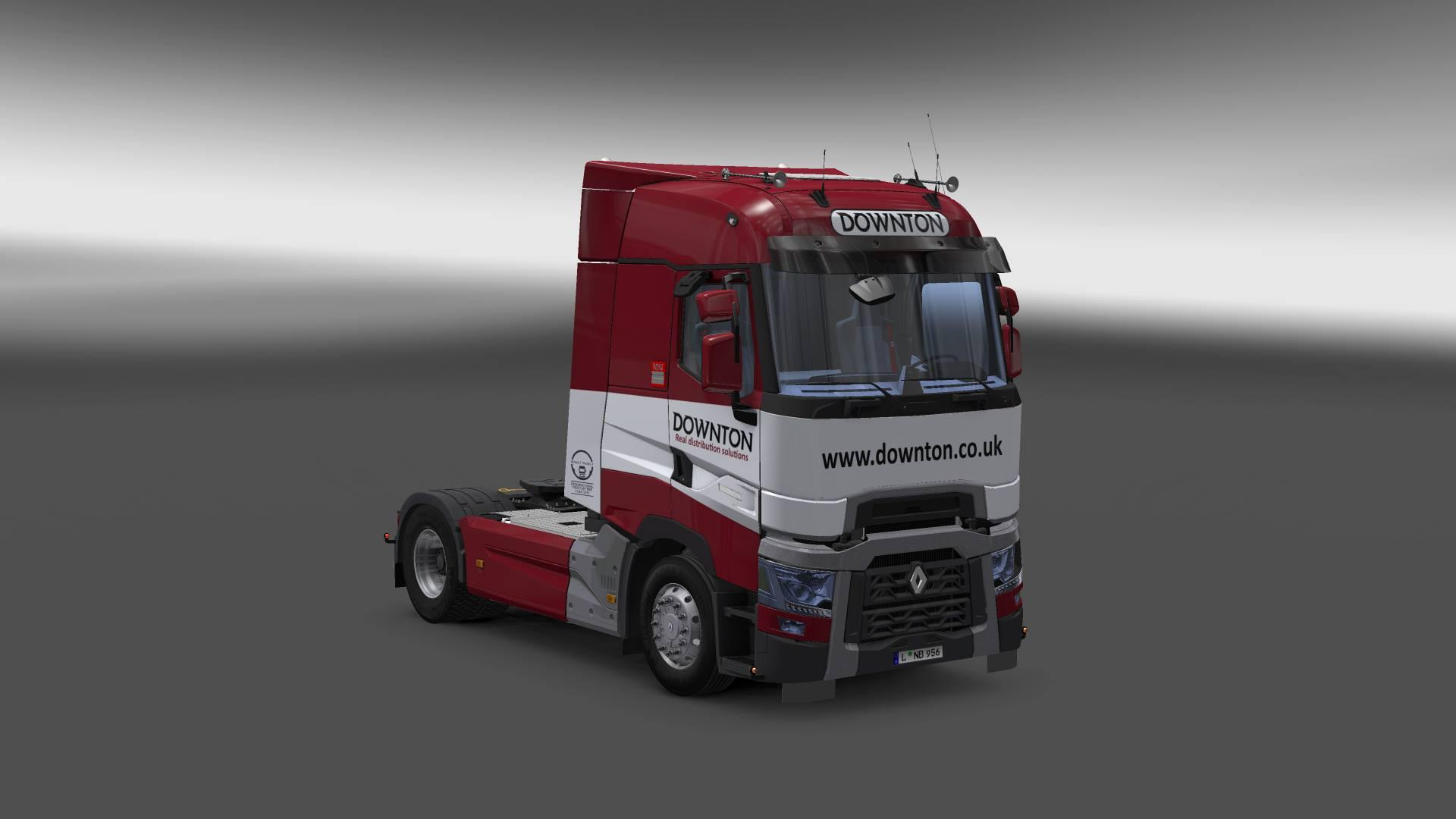 DOWNTON DELIVERS TRUCK SKIN PACK V1.0 For ETS2 -Euro Truck Simulator 2 Mods
