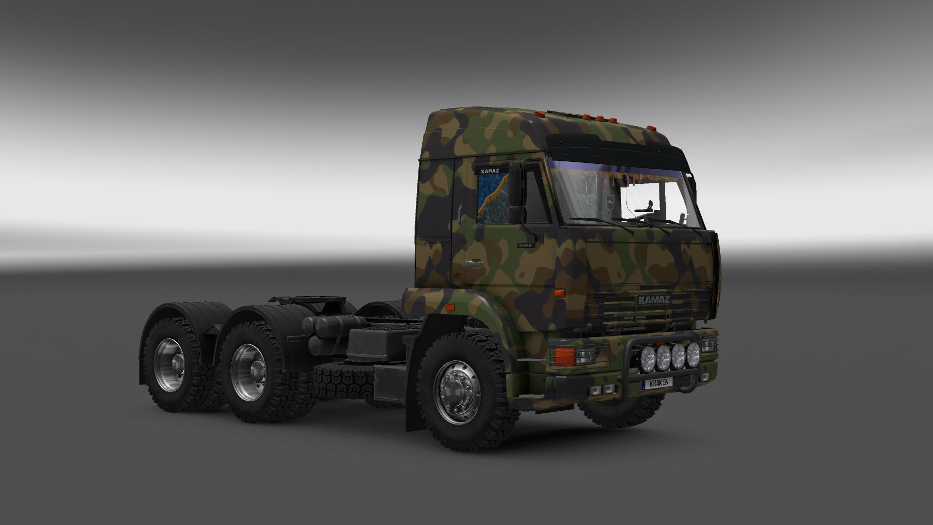 KAMAZ 54-64-65 1.23 Truck -Euro Truck Simulator 2 Mods
