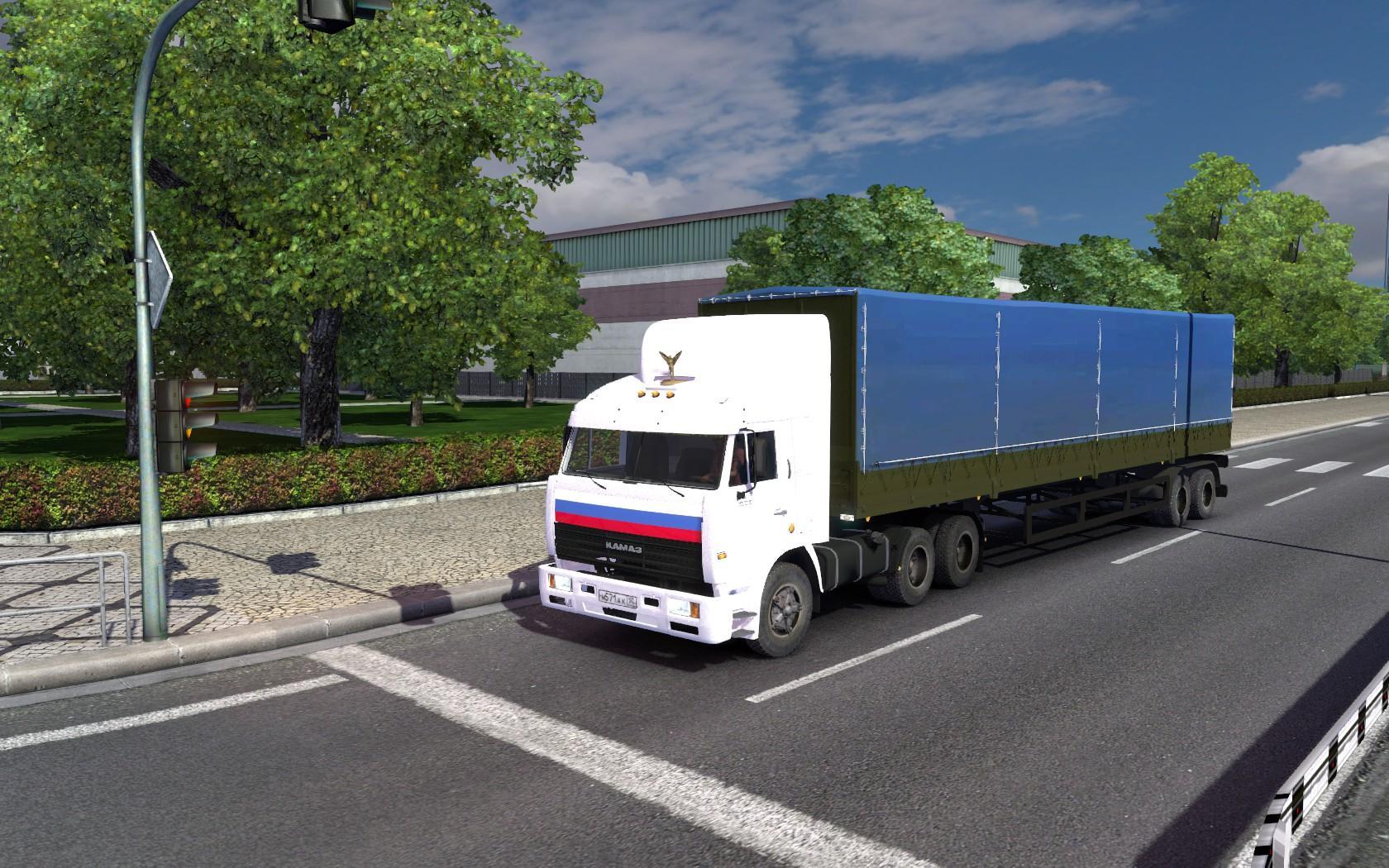 KAMAZ 54115 (1.23) Truck -Euro Truck Simulator 2 Mods
