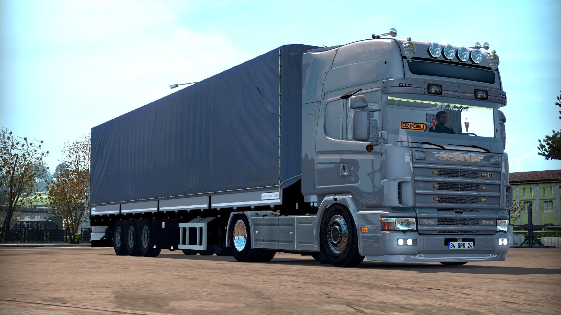 scania 164l 4 series truck euro truck simulator 2 mods. Black Bedroom Furniture Sets. Home Design Ideas