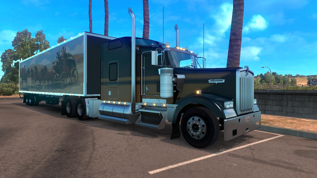 Dc Smokey And The Bandit Trailers For V1 Ats Euro Truck