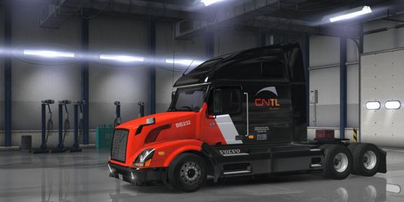 Volvo vnl 670 cntl mod ats euro truck simulator 2 mods for Howell s motor freight