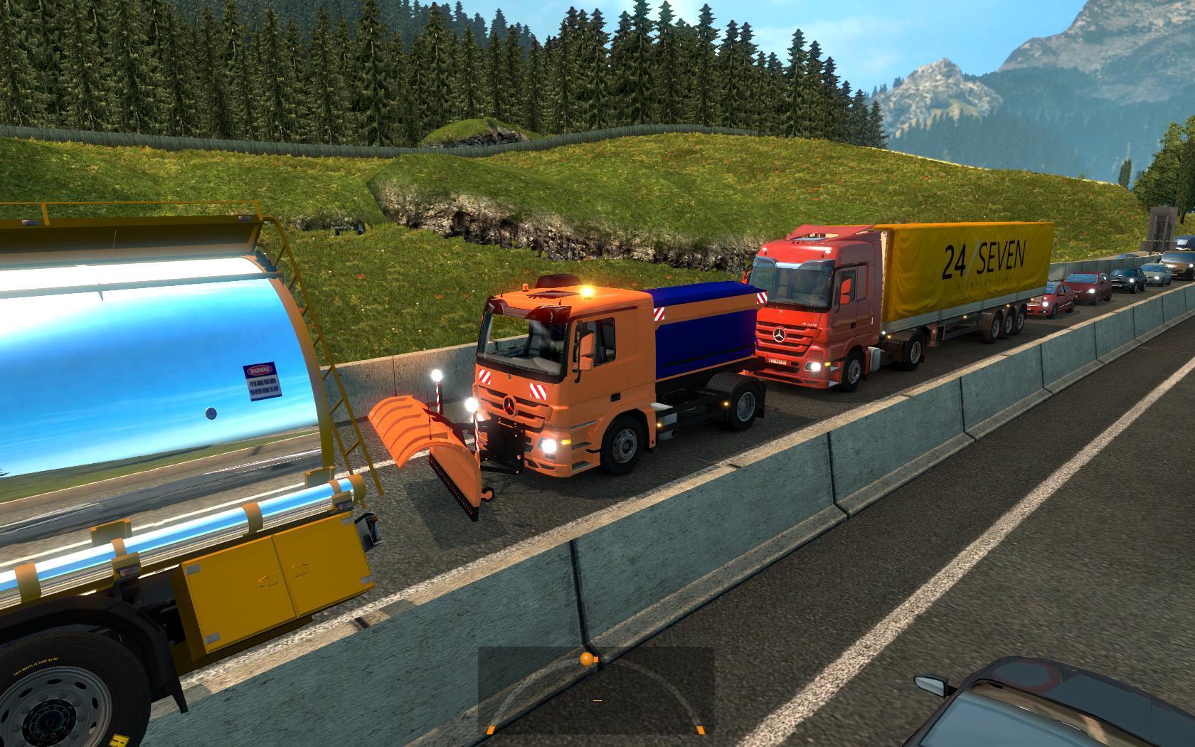 BIG TRAFFIC MOD V1 23 ETS 2 -Euro Truck Simulator 2 Mods