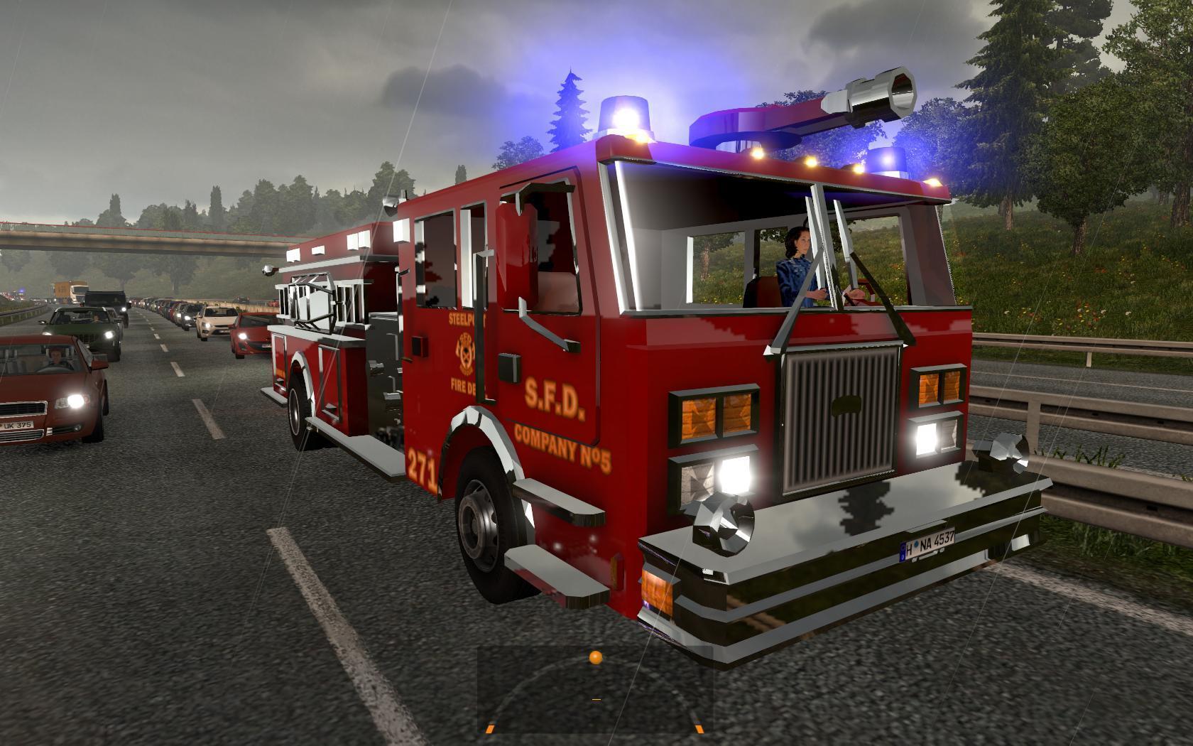 Scania RJL Mike Kok Skin | ETS 2 mods