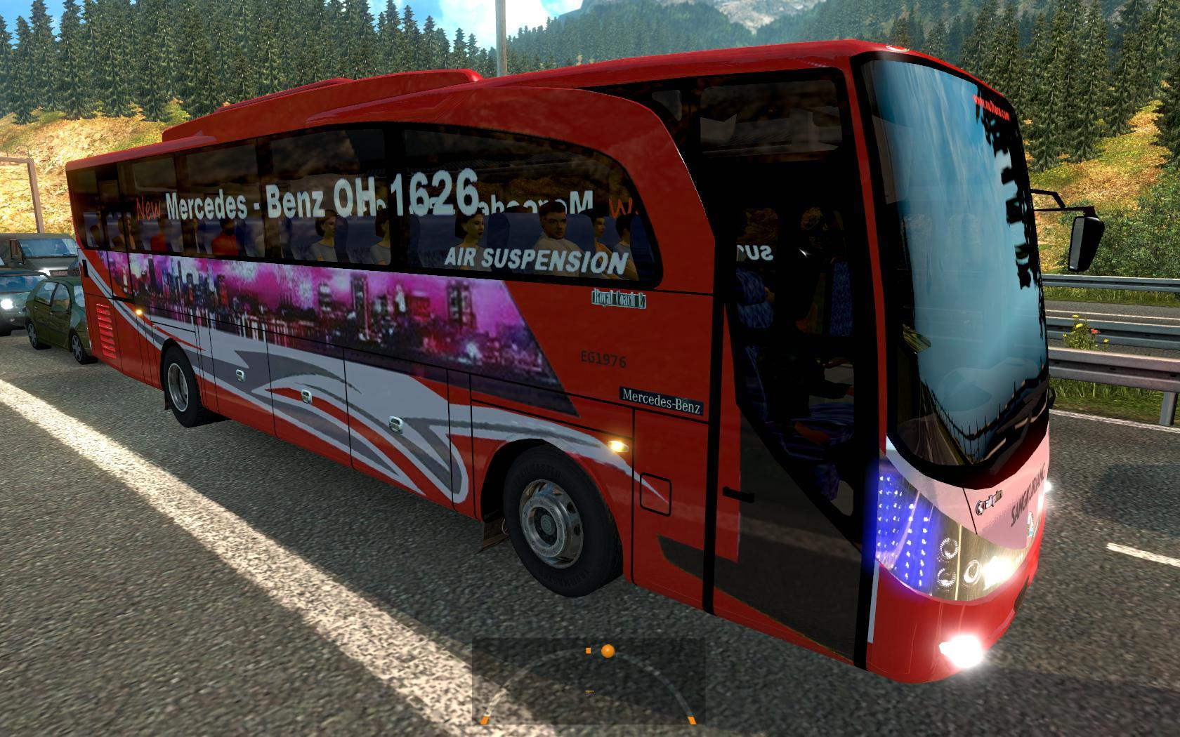 GREAT MOD ON TRAFFIC 1 23 XX For ETS 2 -Euro Truck Simulator