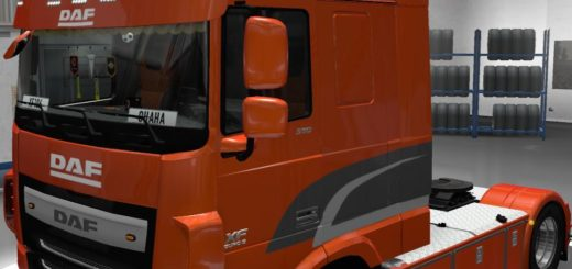 [REL] DAF XF E6 BY OHAHA 1.61 Truck