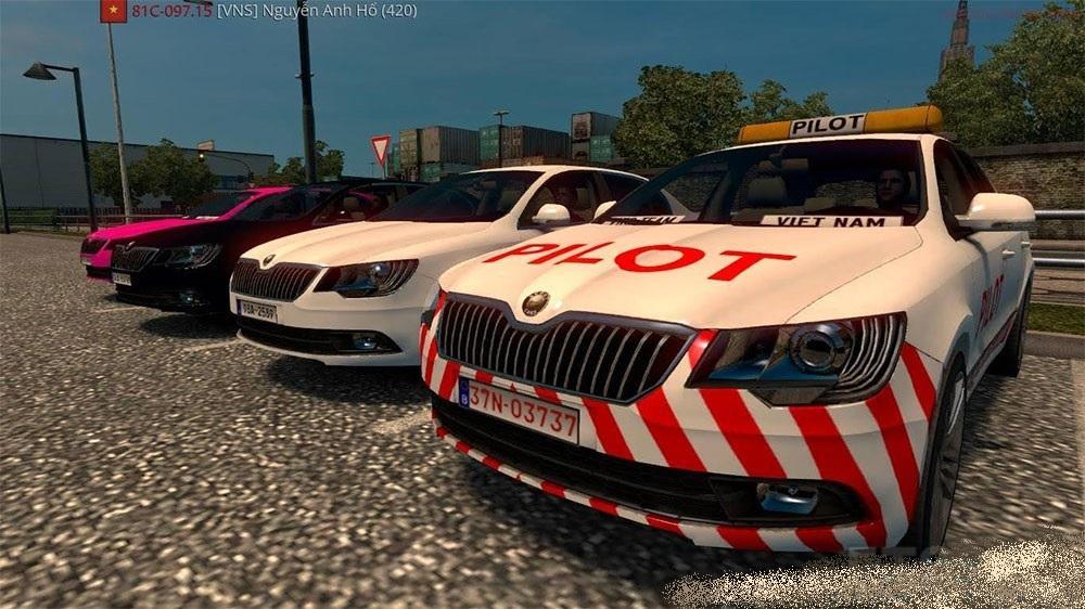 Download Mod Euro Truck Simulator  Car