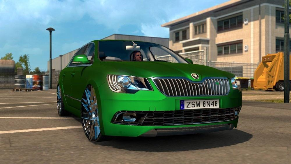 skoda superb rs edit car euro truck simulator 2 mods. Black Bedroom Furniture Sets. Home Design Ideas