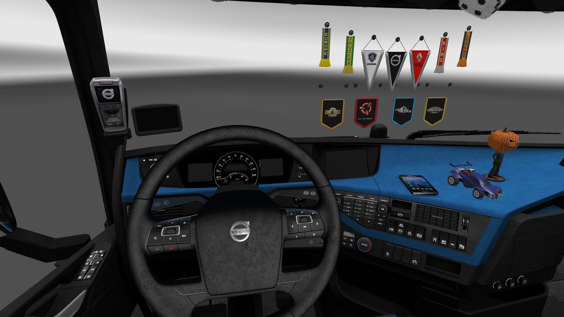 Volvo Fh16 750 Interior >> VOLVO FH16 750 FHTRANS + DLC 1.23.X - 1.23.3.1S Truck -Euro Truck Simulator 2 Mods