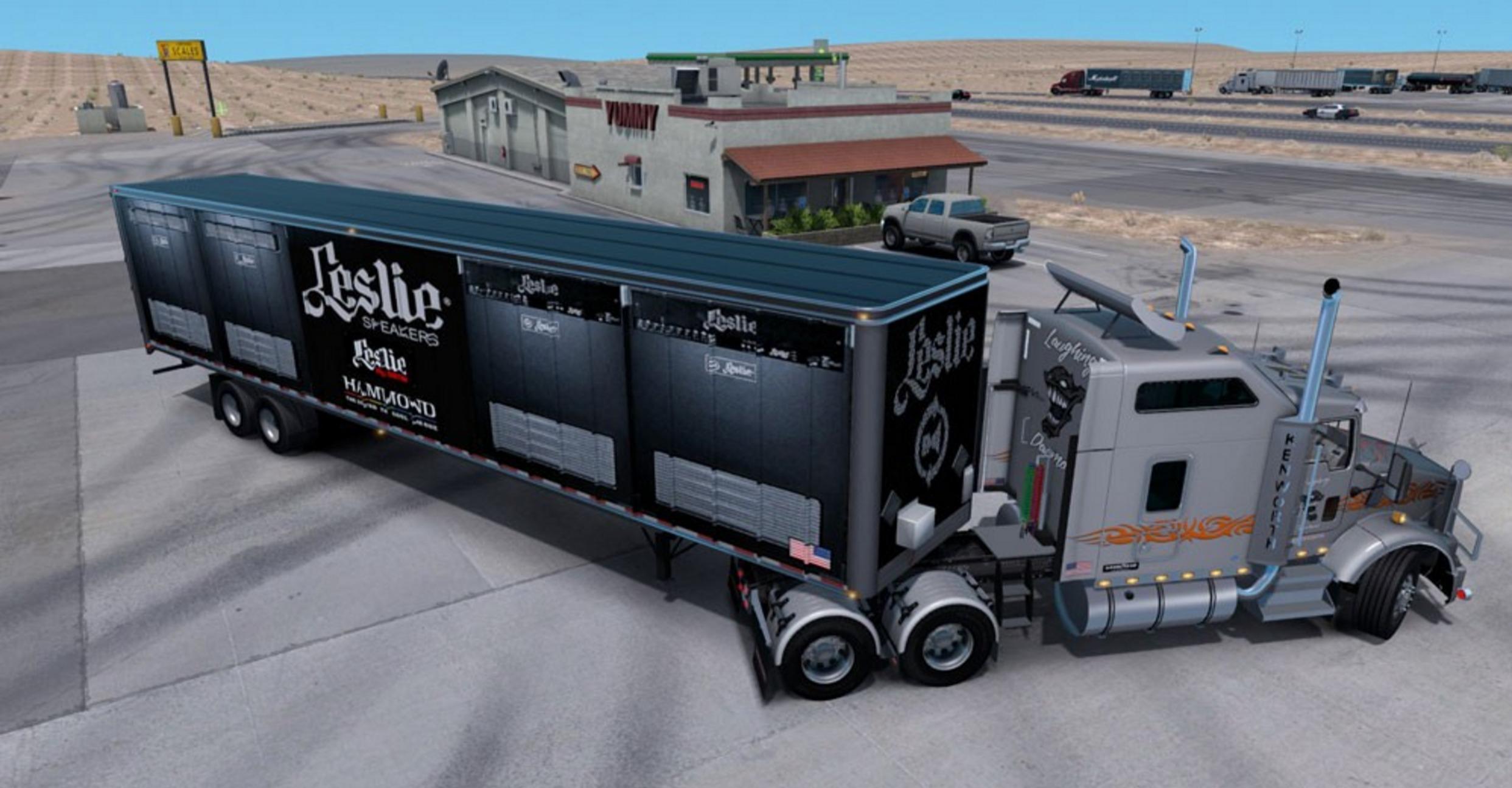 leslie speakers mod mod euro truck simulator 2 mods. Black Bedroom Furniture Sets. Home Design Ideas